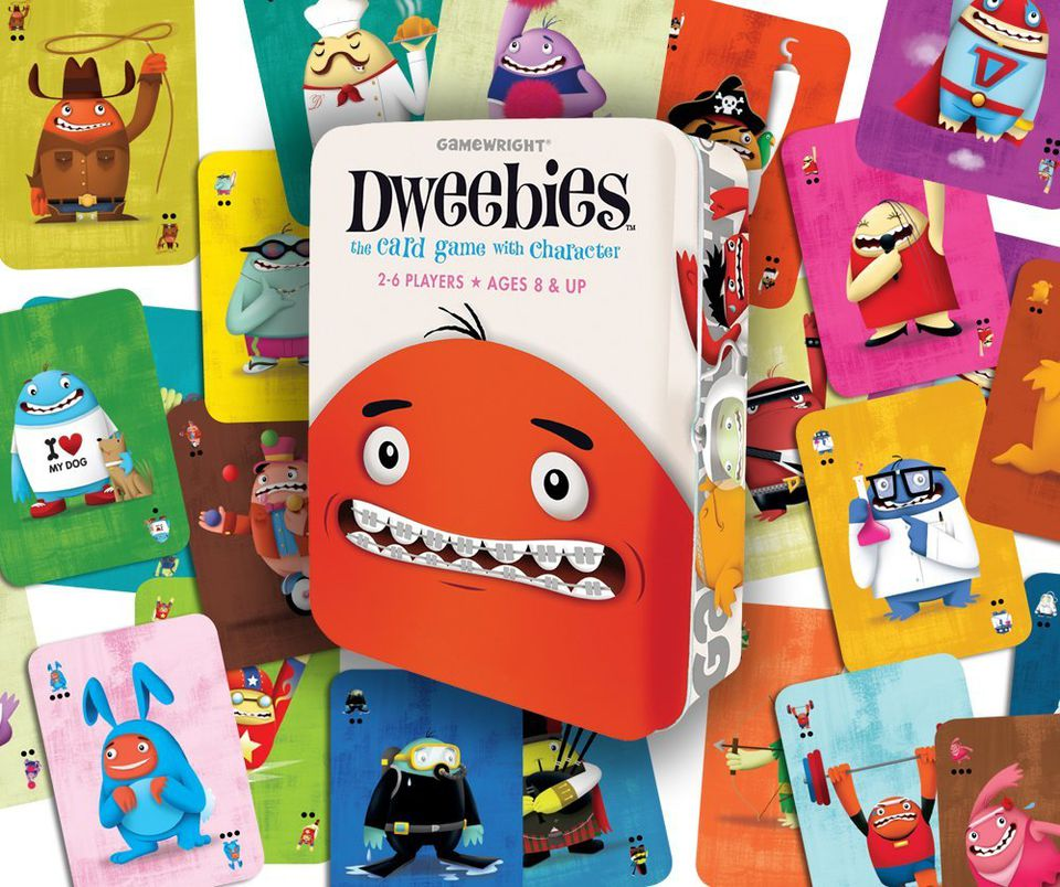 Grandparents and grandchildren will enjoy playing Dweebies.