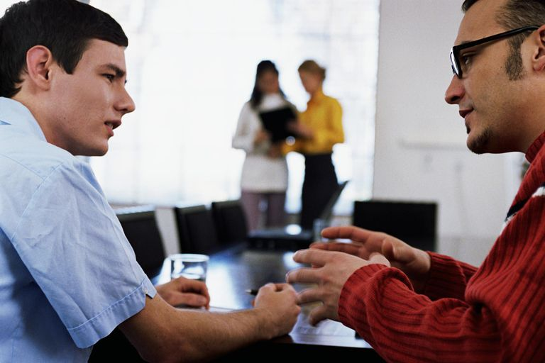 two businessmen having discussion - Career Advice Career Tips From Professional Experts