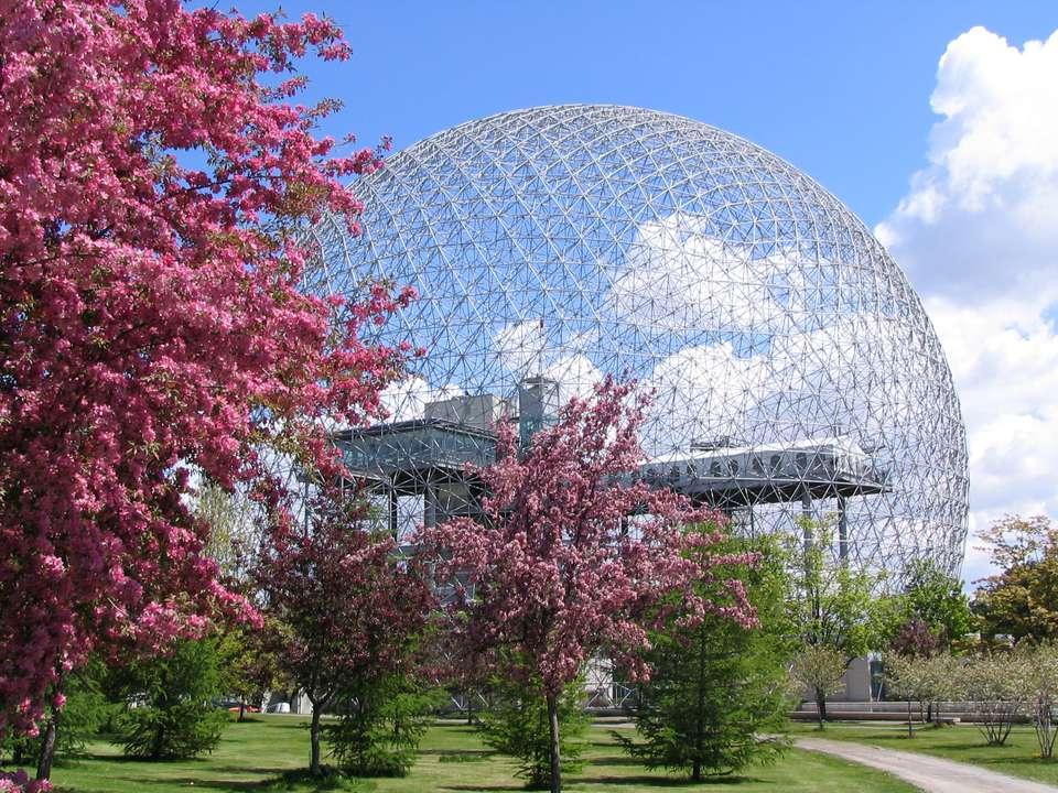 Biosphere in spring - Montreal
