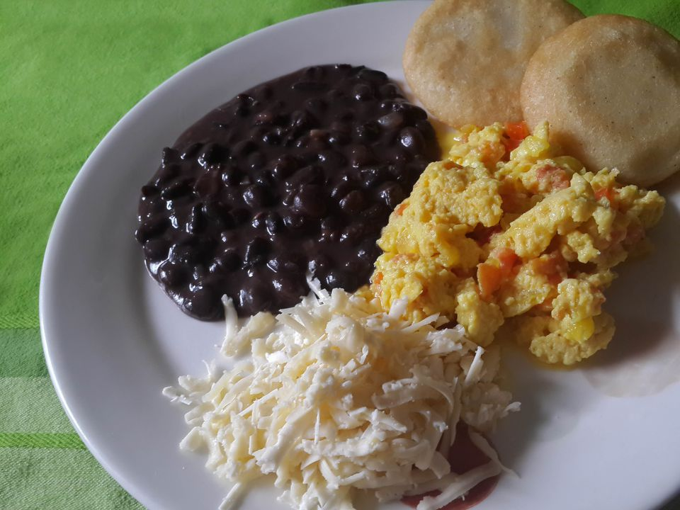 South american beans beans recipes venezuelan breakfast with black beans forumfinder Gallery