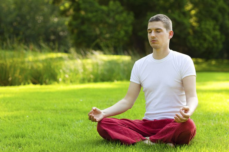 Calming the body with equal breathing