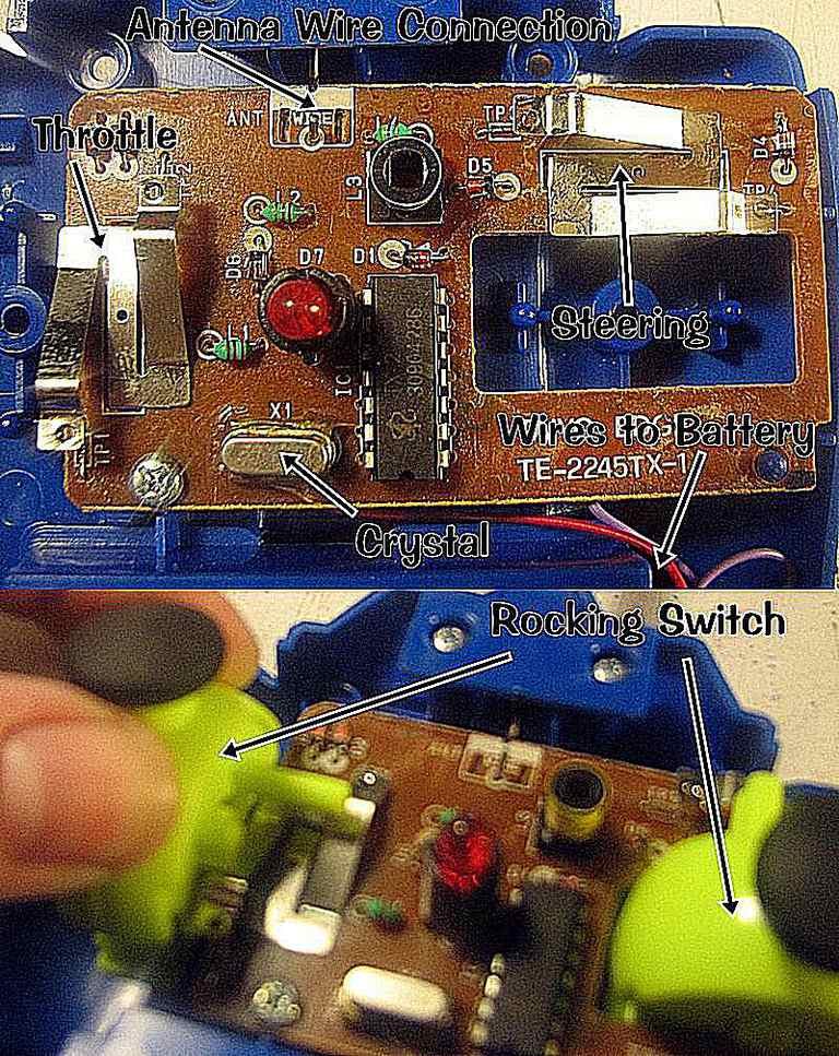 Help With Rc Toy Transmitter Receiver Circuits