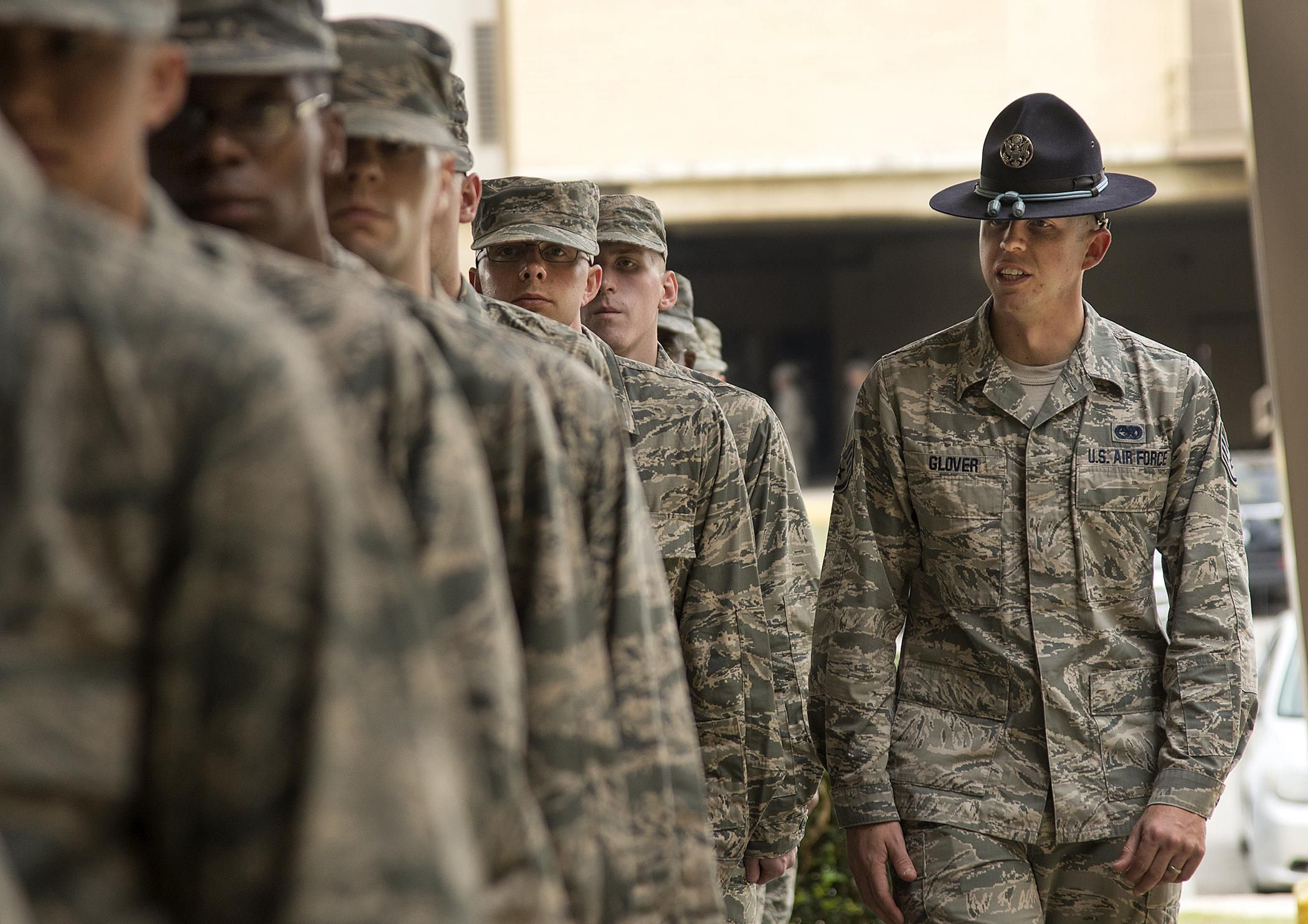 Surviving Air Force Basic Training Meeting Your T I