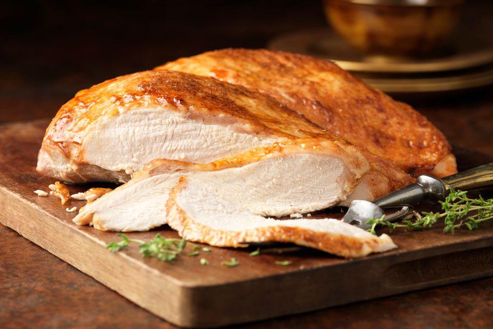 recipe turkey breast on grill