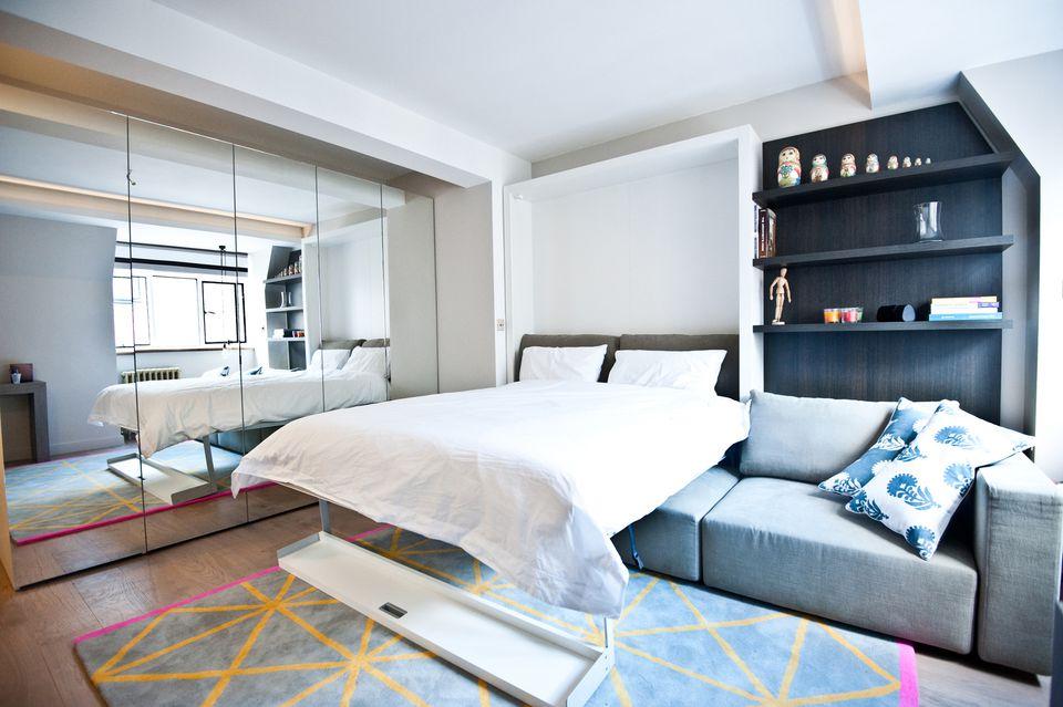 Studio Apartment Furniture. Happy Home Arranging Furniture In A Tiny ...