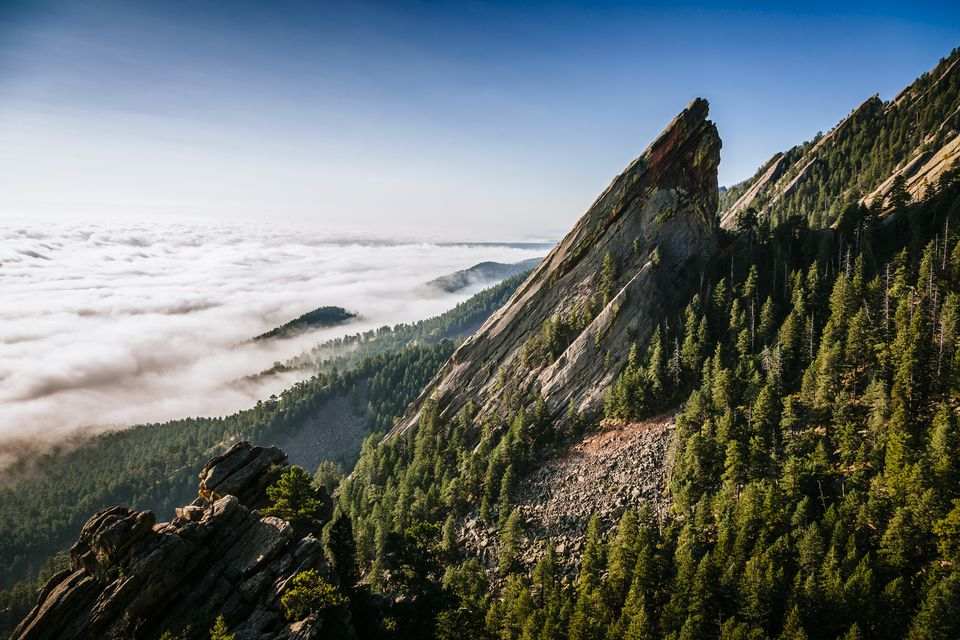 Third Flatiron near Boulder