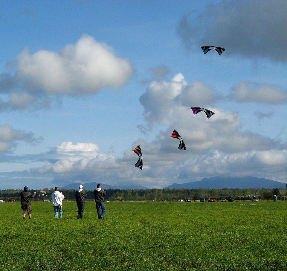 Zilker Kite Festival in Austin, Texas