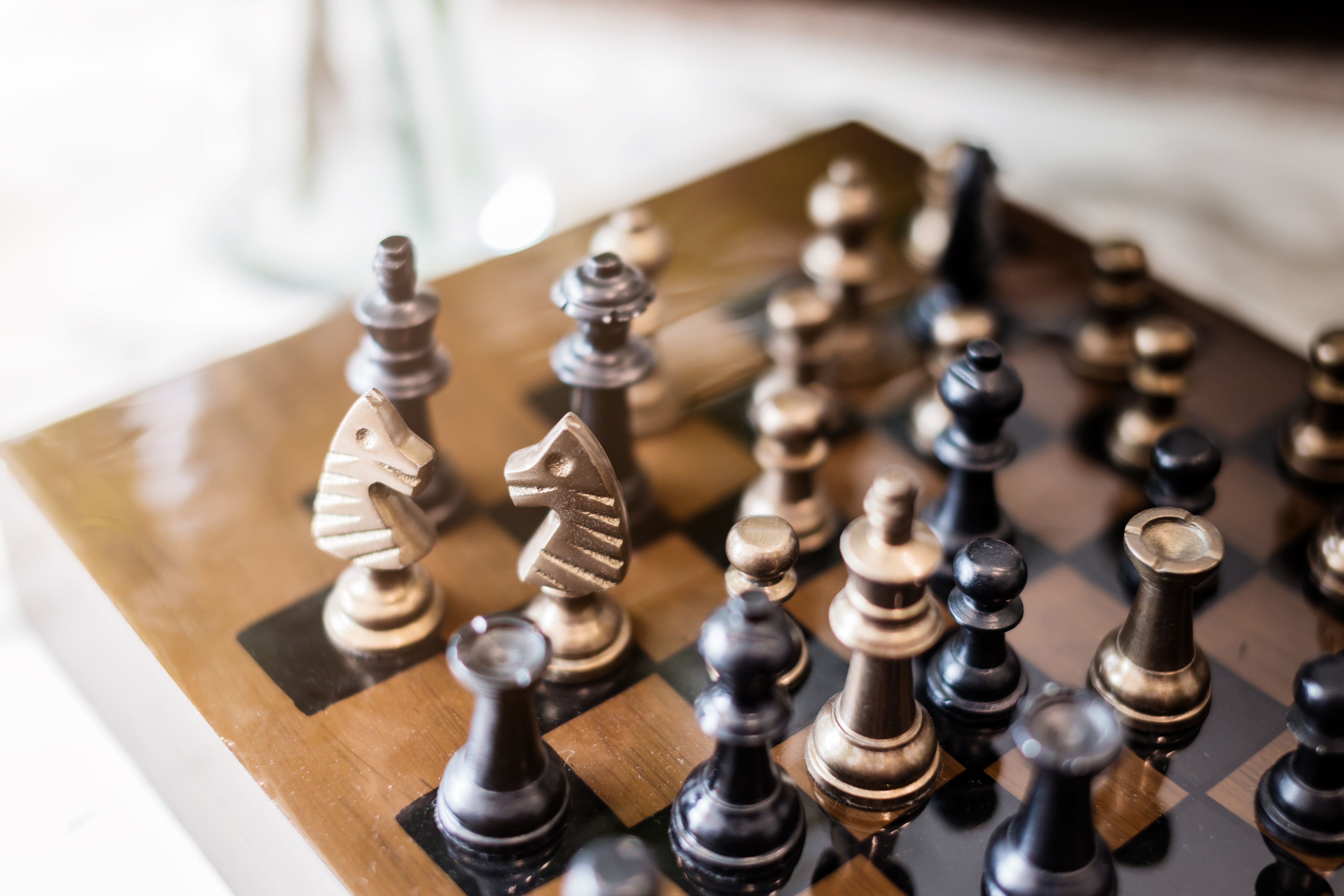 projects ideas metal chess pieces.  The Easiest Way to Set up a Chess Board