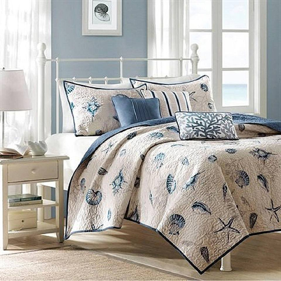 Coastal Living Bedroom Furniture and Decor