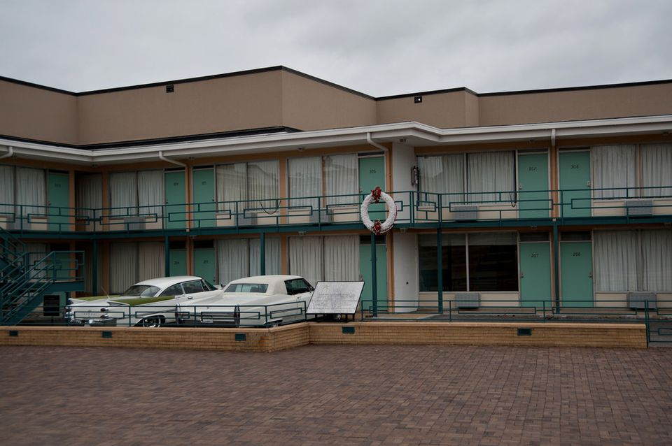 National Civil Rights Museum - The Lorraine Motel - Room 306 - Memphis TN