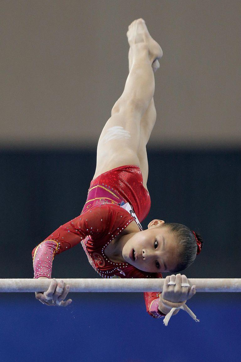 2014 gymnastics worlds Shang Chunsong