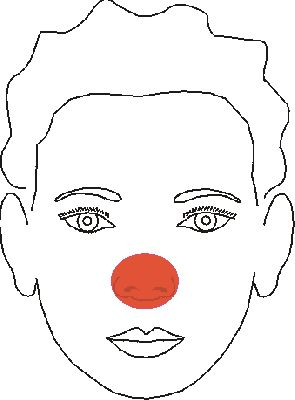 Face Painting Designs: Easy Clown