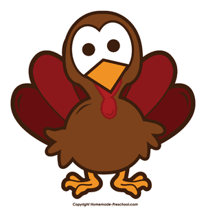 Thanksgiving Clipart From Home Made Preschool