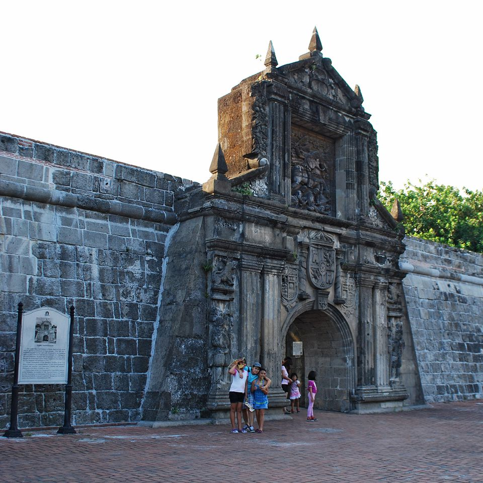 Fort Santiago gate, Intramuros, Manila