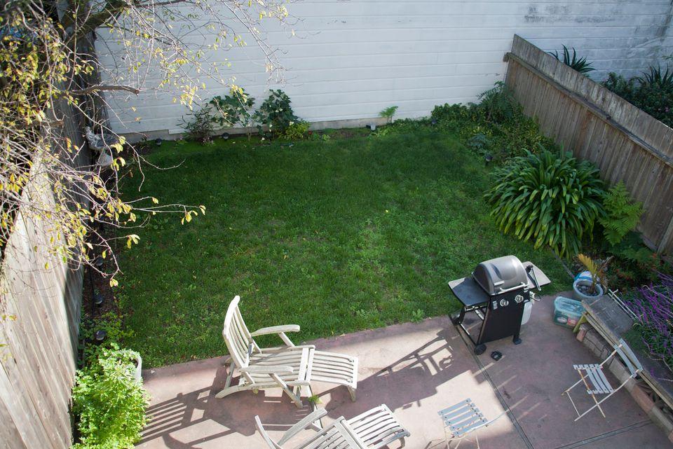 ugly backyard