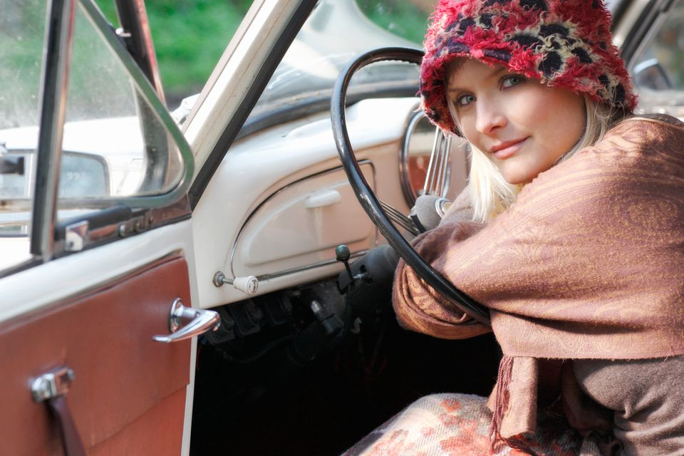 Enjoy cooler weather while shopping October antique trails and highway yard sales.