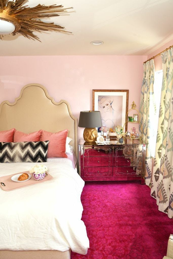 pretty pink bedrooms 7 pretty in pink bedrooms 12935
