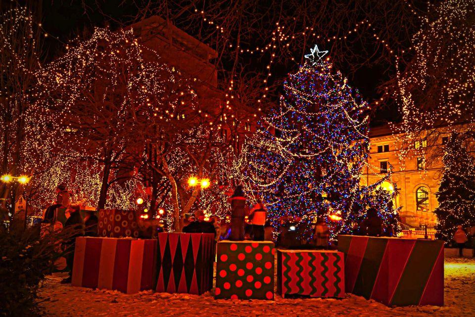 St Paul Christmas Lights