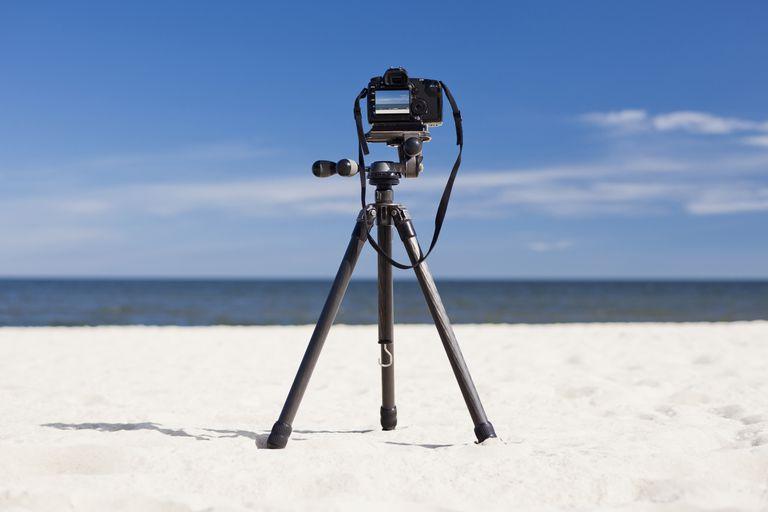 DSLR video taken using a tripod