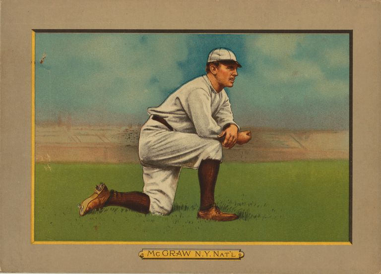 Baseball Card Titled 'McGraw - N.Y. Nat'l'