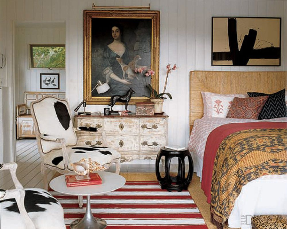 eclectic bedroom.  How to Decorate Your Bedroom in an Eclectic Style