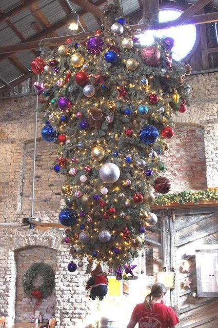 Eastern European Tradition Of Upside Down Christmas Trees