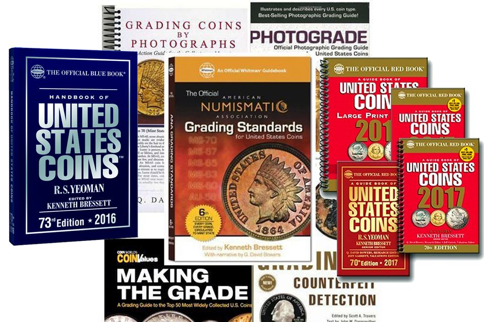 Example Coin Books.