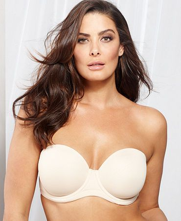 However, strapless bras have changed for the better. (Unlike your middle-school bully, who probably still lives with his mom.) No more hiking up your bra at your friend's wedding—the newest options on the market are made with better materials and support way more sizes than ever before.