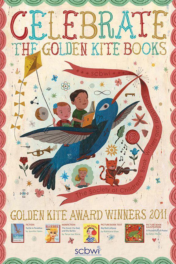 SCWBI 2011 Golden Kite Award Poster