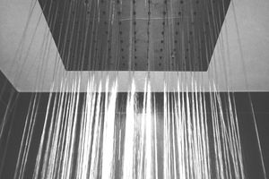 low angle view of a shower