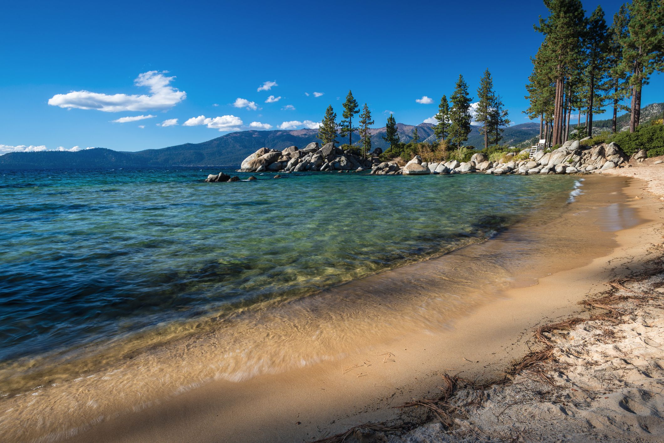 Swimming and Water Play Beaches at Lake Tahoe