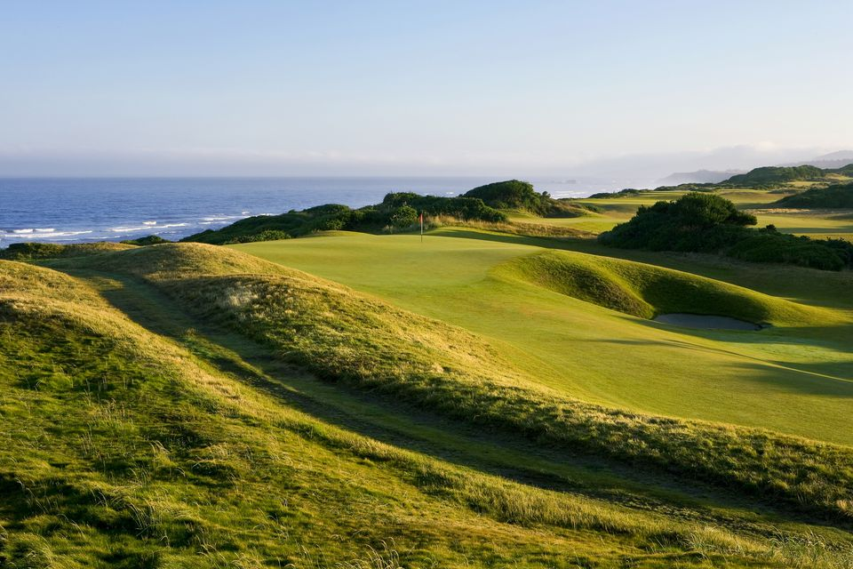15th Hole on the Bandon Dunes Golf Course