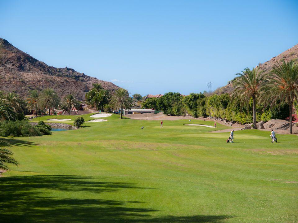 A golf course in Puerto Rico.