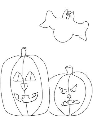 pumpkin coloring pages for kids at coloringws - Free Printable Pumpkin Coloring Pages
