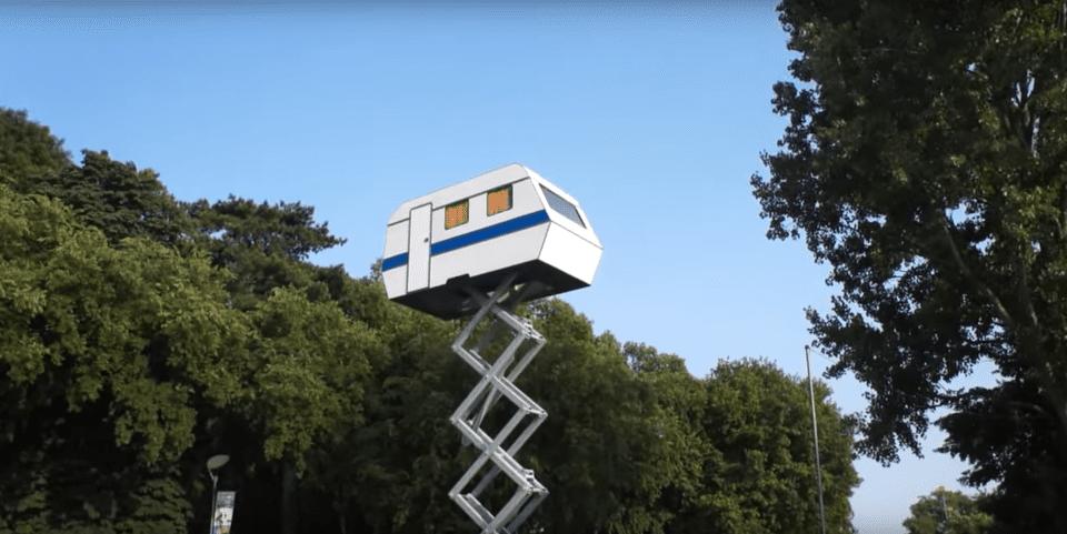 RV treehouse