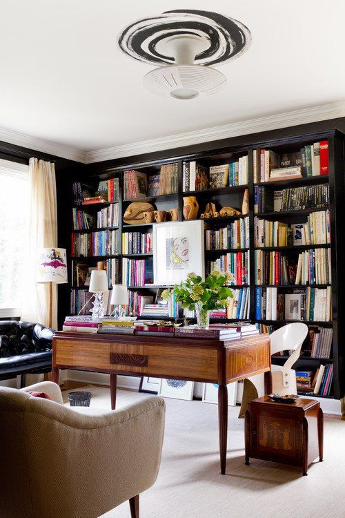 Living Room Library Design Ideas: 25 Stunning Home Library Design Ideas