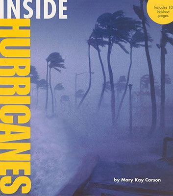 Eye of the storm a book about hurricanes kids