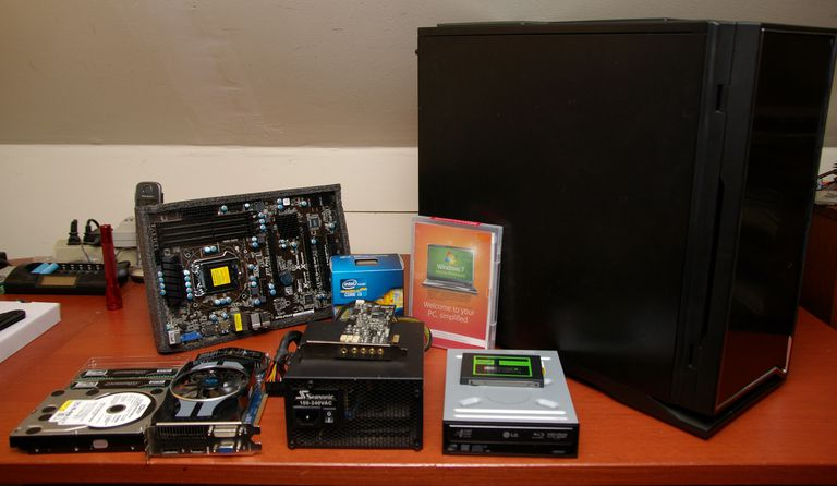 Various computer components