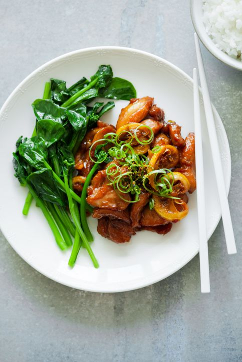 Chinese bourbon chicken recipe
