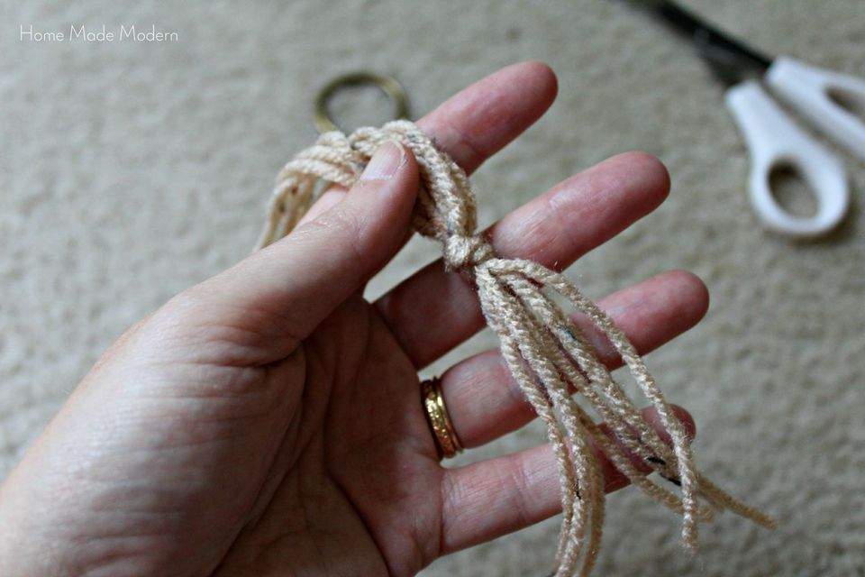 macrame tutorial_step 1