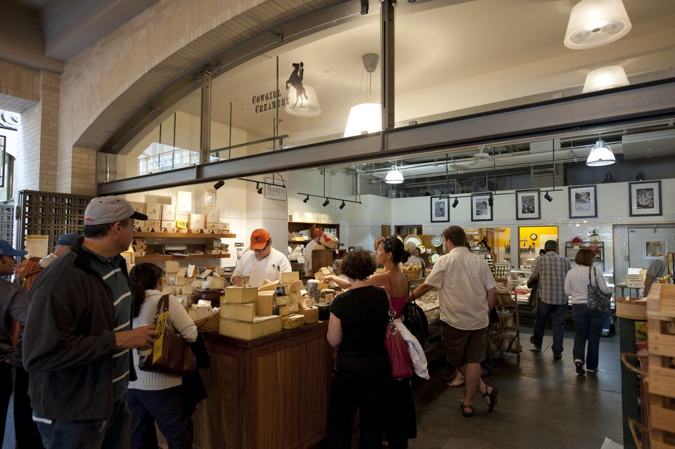 Cowgirl Creamery at the San Francisco Ferry Building