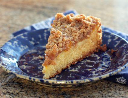 Crock Pot Peach Dump Cake Recipe