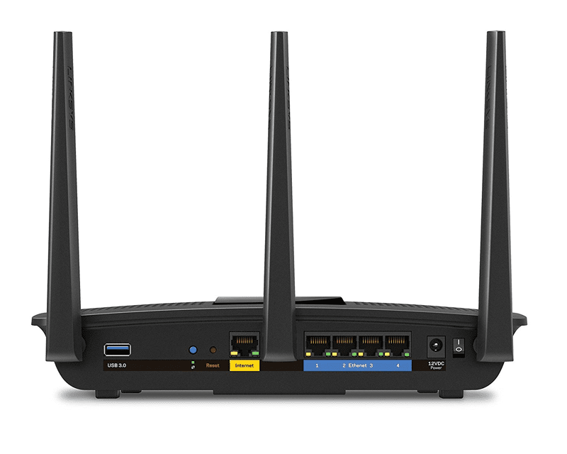 Picture of a Linksys AC1750 Dual-Band Smart Wireless Router