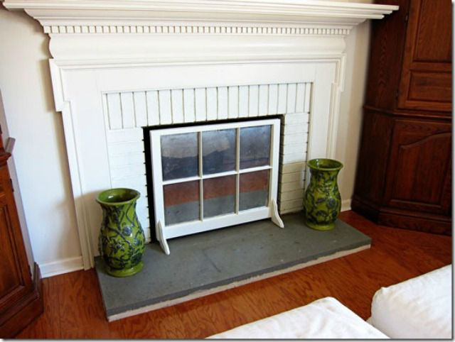 Creative ways to diy fireplace screens and accessories diy a fireplace screen solutioingenieria Choice Image