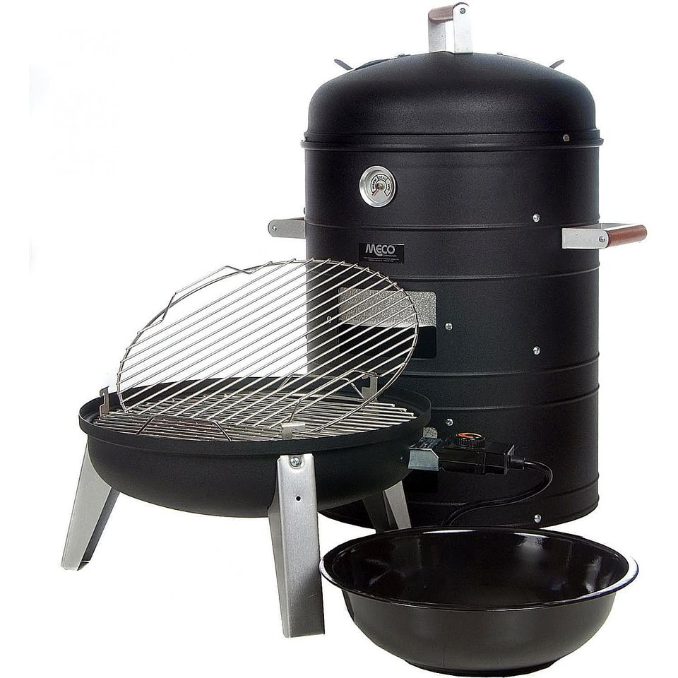 Meco Combination Electric Smoker/Grill Model 5030