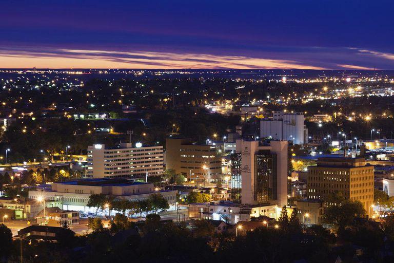 Rapid City, South Dakota, City View