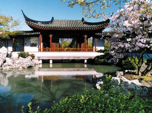 Dr Sun Yat Sen Garden pavilion