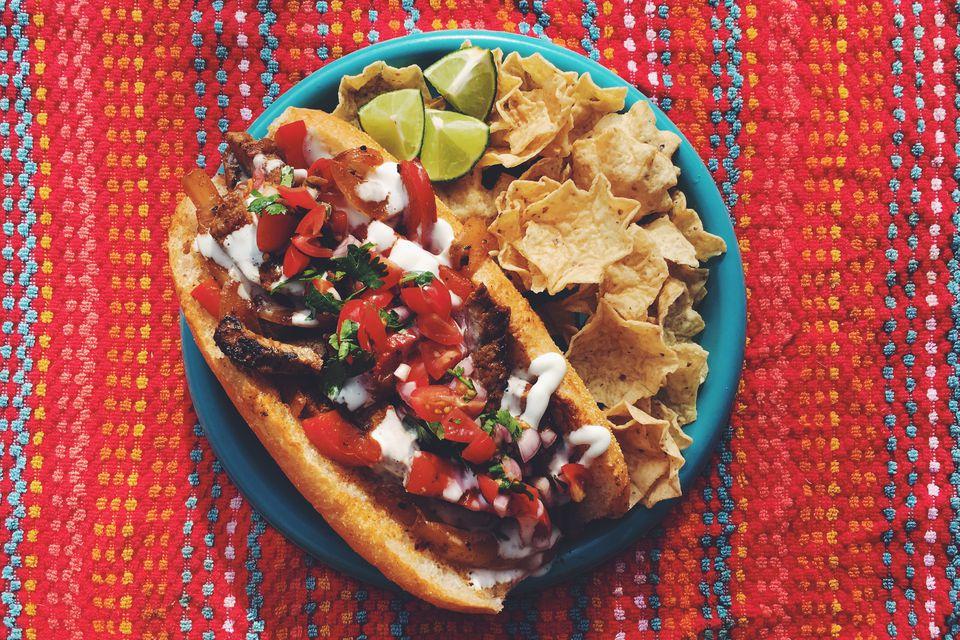 Steak Fajita Sub Sandwich Recipe