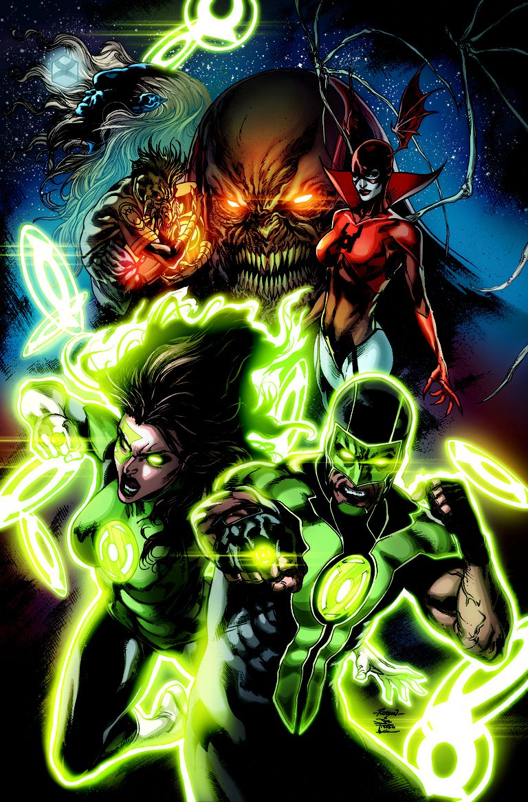 Green Lanterns #1 art by Robson Rocha