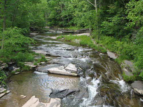 Woodstock creek.